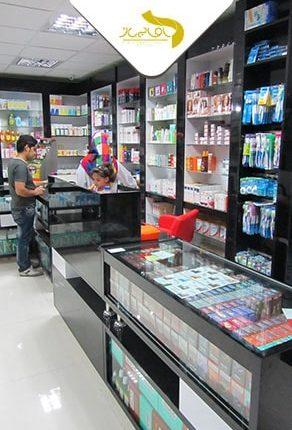 طراحی و اجرای دکوراسیون داروخانه شاهین