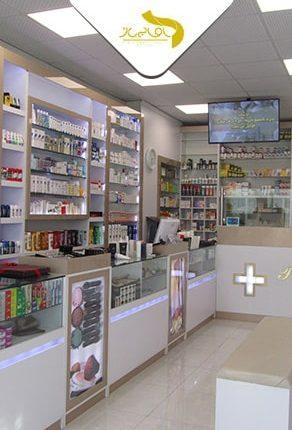 طراحی و اجرای داروخانه دکتر مشیری