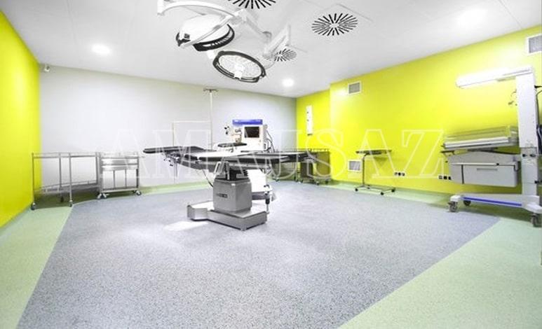 طراحی و اجرای دکوراسیون داخلی مطب زنان و زایمان - آماج ساز